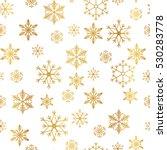 Golden Snowflake Simple...