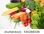 fresh vegetables | Shutterstock . vector #530288338