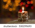 Handmade Candle. Christmas...