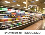 blurred beverage display on... | Shutterstock . vector #530303320