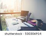 business stuff  graph  charts ... | Shutterstock . vector #530306914