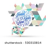christmas design and elements... | Shutterstock .eps vector #530310814
