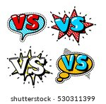 versus letters or vs logo... | Shutterstock .eps vector #530311399