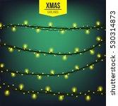 abstract creative christmas... | Shutterstock .eps vector #530314873