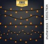abstract creative christmas... | Shutterstock .eps vector #530317834