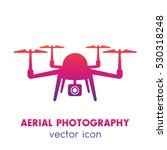 drone icon  aerial photography...