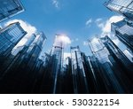 3d rendering highrise office... | Shutterstock . vector #530322154