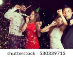 two beautiful young couples...   Shutterstock . vector #530339713