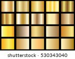 gold background texture vector... | Shutterstock .eps vector #530343040