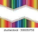 Multicolored Pencils Situated...