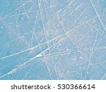 blue ice rink texture  clear... | Shutterstock . vector #530366614