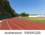 outdoor track and field stadium ... | Shutterstock . vector #530391220