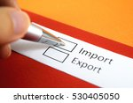 Small photo of Import or Export? Import.