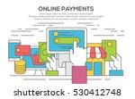 concept illustration of making... | Shutterstock .eps vector #530412748