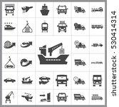 transportation icon vector...   Shutterstock .eps vector #530414314