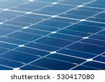close up of solar energy panel... | Shutterstock . vector #530417080
