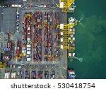 Port Shipping Use Crane Liftin...