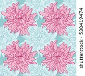 seamless floral wallpaper with... | Shutterstock .eps vector #530419474