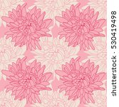 seamless floral wallpaper with... | Shutterstock .eps vector #530419498