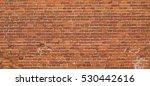 Red Brown Vintage Brick Wall...