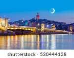 galata tower  galata bridge ... | Shutterstock . vector #530444128