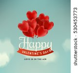 valentine's day illustration | Shutterstock .eps vector #530453773