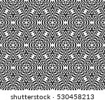black and white color. abstract ... | Shutterstock .eps vector #530458213