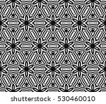 illusion art. seamless floral... | Shutterstock .eps vector #530460010
