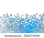 abstract square pixel mosaic... | Shutterstock .eps vector #530475430