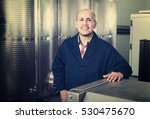 smiling mature worker man... | Shutterstock . vector #530475670