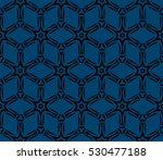 illusion art. seamless floral... | Shutterstock .eps vector #530477188