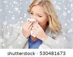 health care  flu  hygiene and... | Shutterstock . vector #530481673