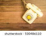 old telephone retro vintage... | Shutterstock . vector #530486110