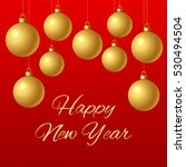 congratulation happy new year.... | Shutterstock . vector #530494504