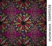 lilac background. pink  beige.... | Shutterstock .eps vector #530495158