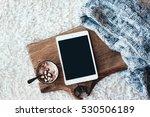 winter homely scene ...   Shutterstock . vector #530506189