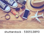 travel accessories costumes.... | Shutterstock . vector #530513893