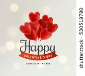 valentine's day illustration | Shutterstock .eps vector #530518780
