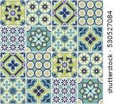 decorative tile pattern design. ...   Shutterstock .eps vector #530527084
