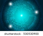 technology  wheel circle...   Shutterstock .eps vector #530530900
