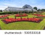 kew gardens is a botanical... | Shutterstock . vector #530533318