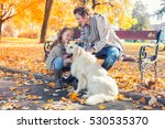 family woman and her daughter... | Shutterstock . vector #530535370