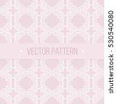 seamless geometrical vintage... | Shutterstock .eps vector #530540080