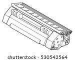 a laser printer toner cartridge ...