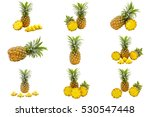 Isolated Set Of Pineapples...