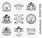 Wild West  Rodeo Show  Sheriff...