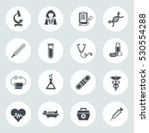 medical icons | Shutterstock .eps vector #530554288