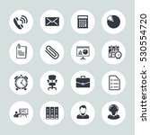 office icons | Shutterstock .eps vector #530554720