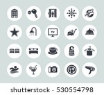 hotel icons | Shutterstock .eps vector #530554798