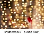 blurry christmas lights out of... | Shutterstock . vector #530554804